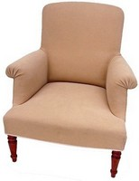 "Fauteuil Anglais "" Assise Tendue """