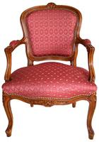 Louis XV Regence Chaise Fauteuil Cabriolet Bergere Canape Salon